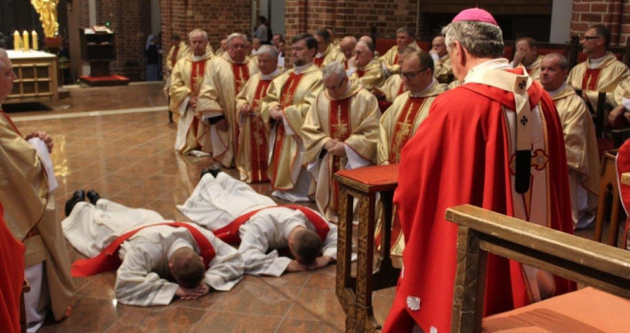 Odpust i święcenia kapłańskie w Bazylice Archikatedralnej w Szczecinie